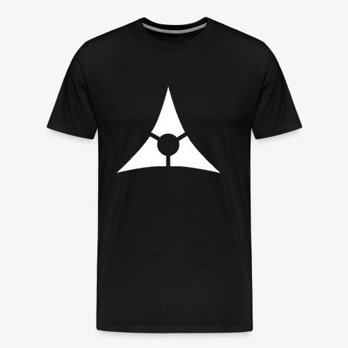 T-Shirt logo Asteria Blanc - T-shirt Premium Homme
