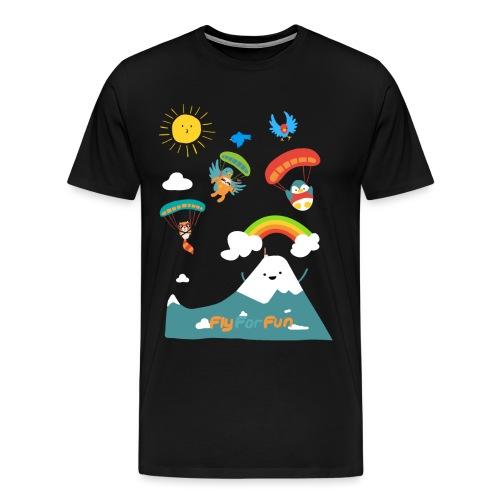 kidsFFF4 png - Männer Premium T-Shirt