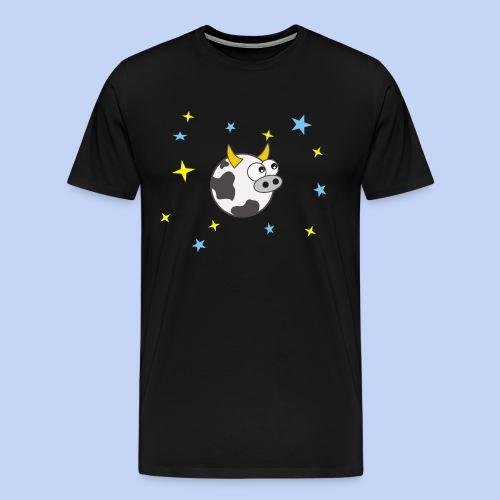 Cow in Space - Men's Premium T-Shirt
