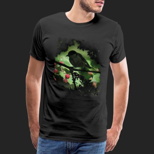 Petit oiseau dans la forêt - T-shirt Premium Homme