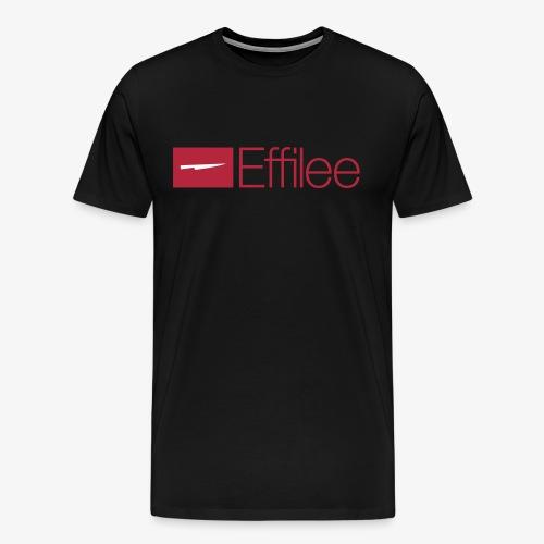 Effilee Logo mit weiss - Männer Premium T-Shirt