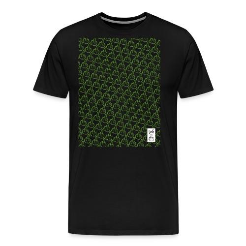 YOLO_TEE_TRAME_VERT - T-shirt Premium Homme