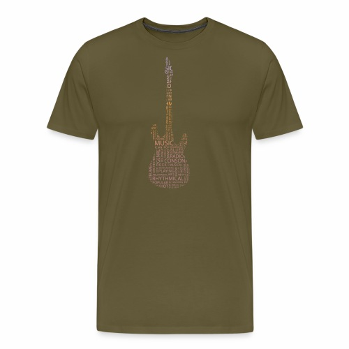 guitarwords - Männer Premium T-Shirt
