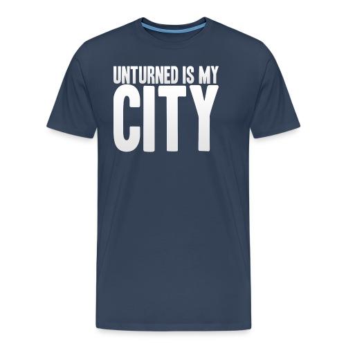 Unturned is my city - Men's Premium T-Shirt