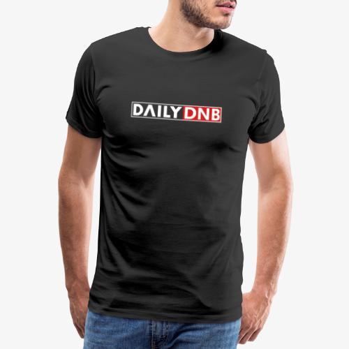 Daily.dnb Black - Männer Premium T-Shirt