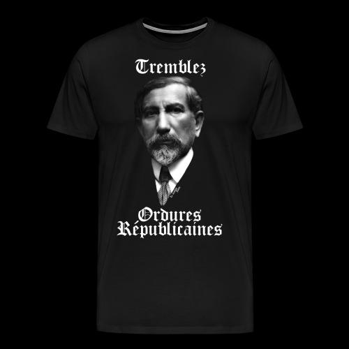 Ordures républicaines - T-shirt Premium Homme