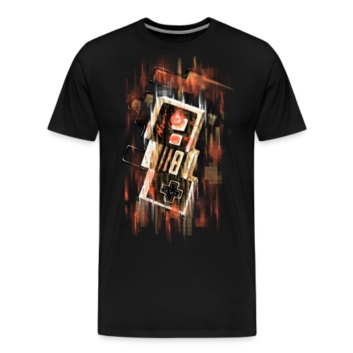 Blurry NES - Men's Premium T-Shirt