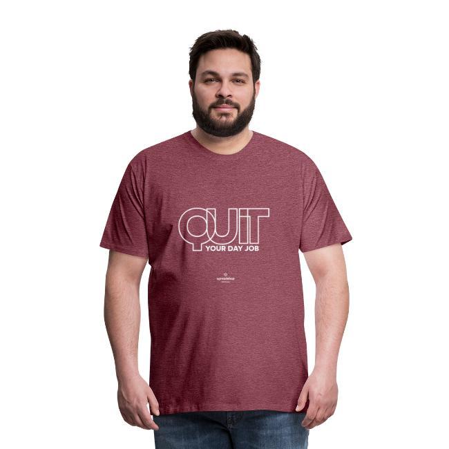 Quit in white