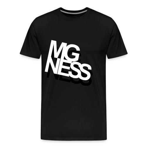 mgness double - Männer Premium T-Shirt