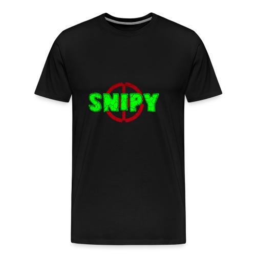 Snipy - Maglietta Premium da uomo