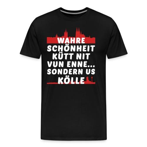 Wahre Schönheit aus Köln - Männer Premium T-Shirt