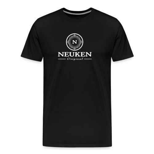 neuken white - Mannen Premium T-shirt