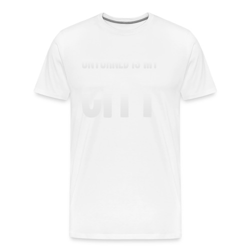 Unturned is my city - Men's Premium T-Shirt