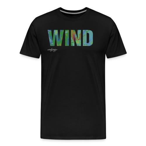 Wind - Männer Premium T-Shirt