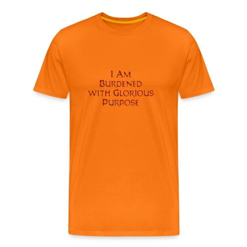 Dawn Strider Text - Men's Premium T-Shirt