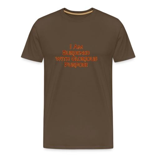 Dawn Strider Text - Men's Premium T-Shirt