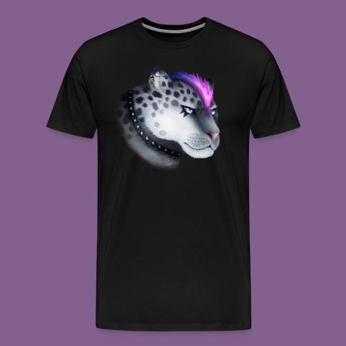 nieve guepardo del punk - Camiseta premium hombre