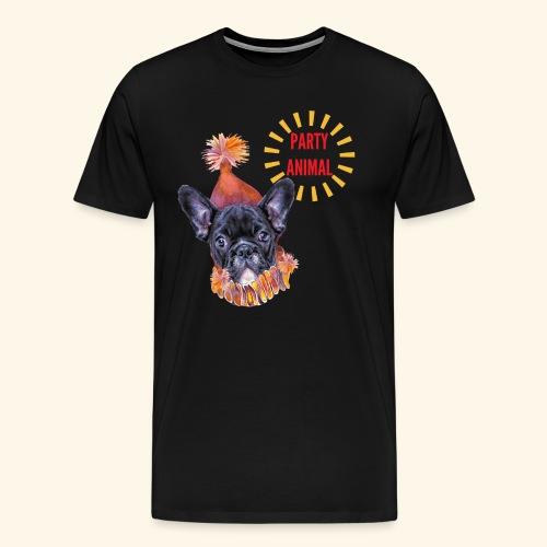 French Bulldog Party - Men's Premium T-Shirt
