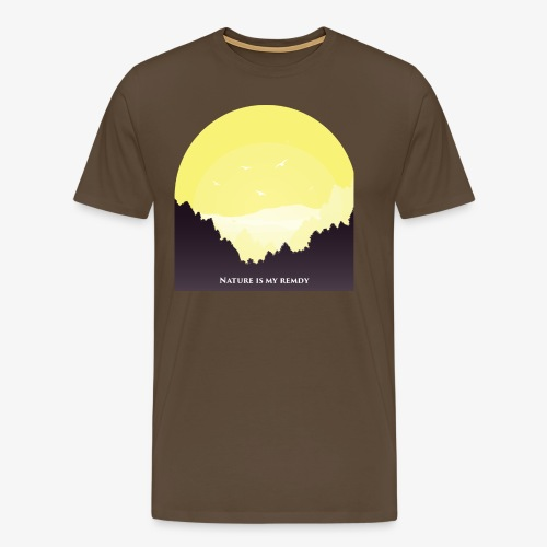 natureismyremedy - Men's Premium T-Shirt