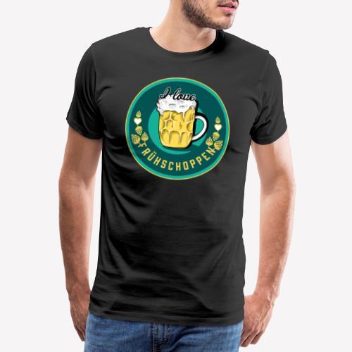 I love Frühschoppen - Männer Premium T-Shirt