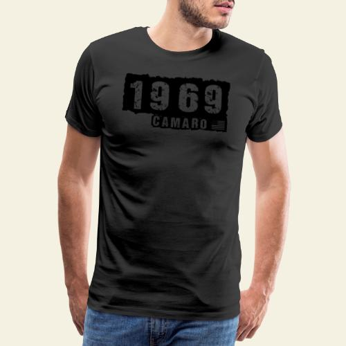 1969 camaro - Herre premium T-shirt