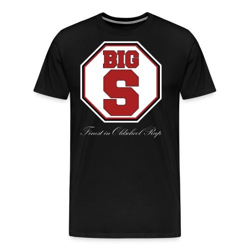 Big S Emblem - Männer Premium T-Shirt
