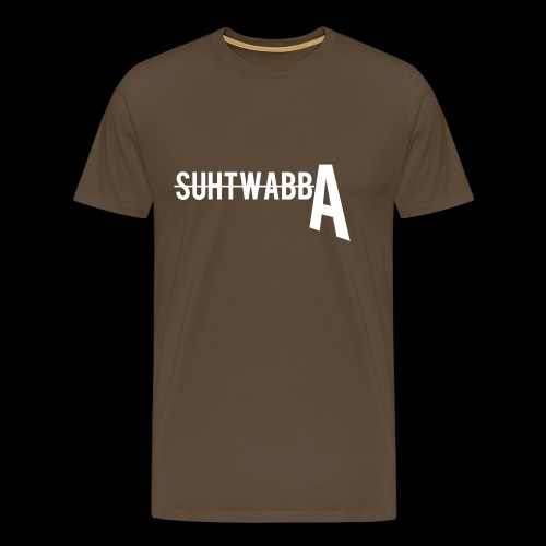 Suhtwabba FRESH - Miesten premium t-paita