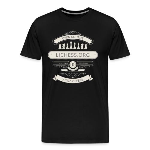 Vintage Lichess - Men's Premium T-Shirt