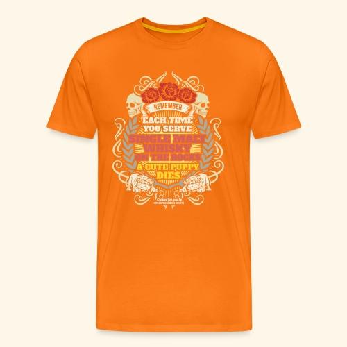 Whisky T Shirt Single Malt Whisky - Männer Premium T-Shirt
