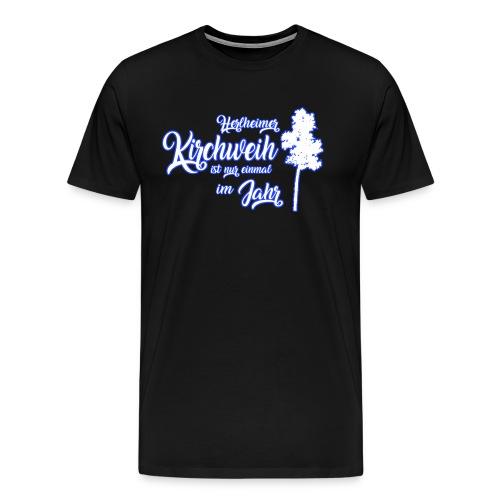 Kirchweih Shirt weiss Kopie - Männer Premium T-Shirt