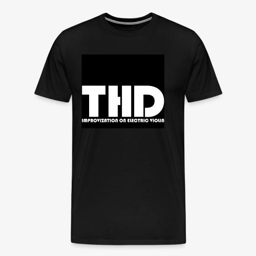 THREE DEUCES LOGO - Männer Premium T-Shirt