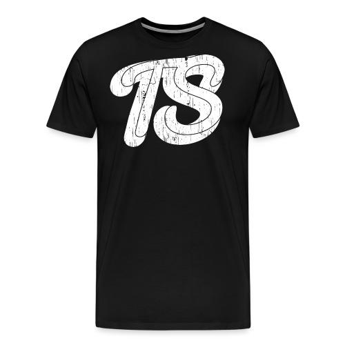 Watermerk Wit png - Mannen Premium T-shirt