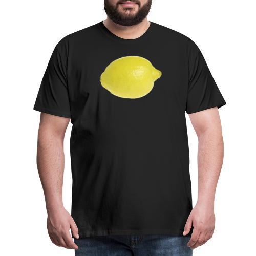 Zitrone - Männer Premium T-Shirt