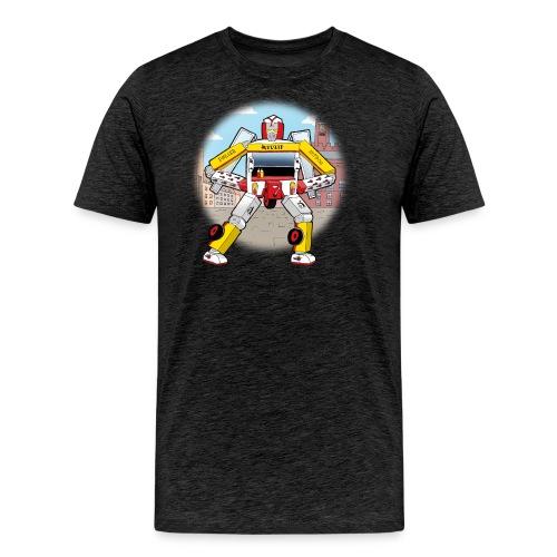 Pølsevogn transformer - Herre premium T-shirt
