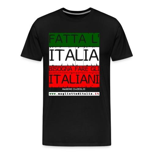 dazeglio fatta italia - Maglietta Premium da uomo