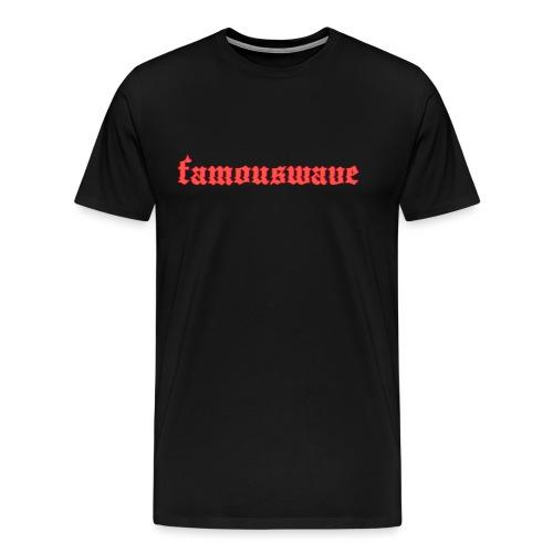 FAMOUSWAVE - Mannen Premium T-shirt