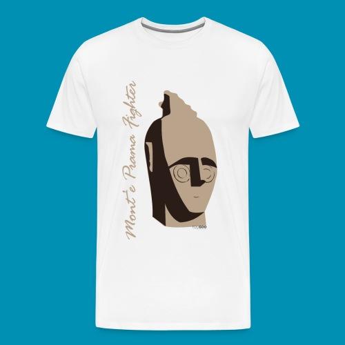 montepramafighter png - Maglietta Premium da uomo