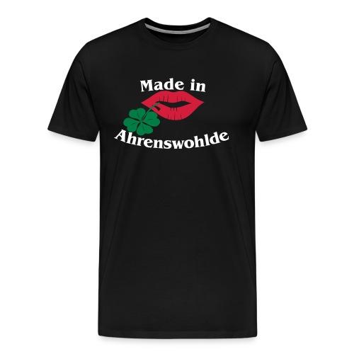 Made in Ahrenswohlde - Männer Premium T-Shirt