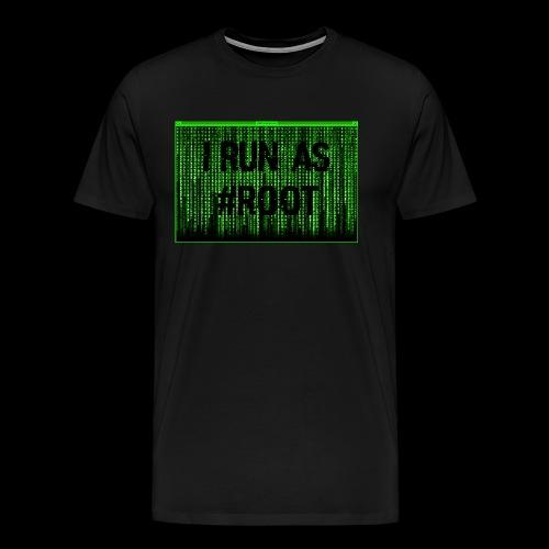 #ROOT - T-shirt Premium Homme