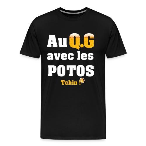Tous au QG !!! - T-shirt Premium Homme