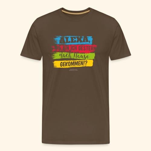 Alexa, Heimweg - Männer Premium T-Shirt
