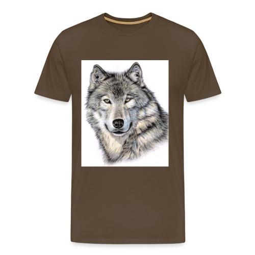 Der Wolf - Bio-Baseballkappe