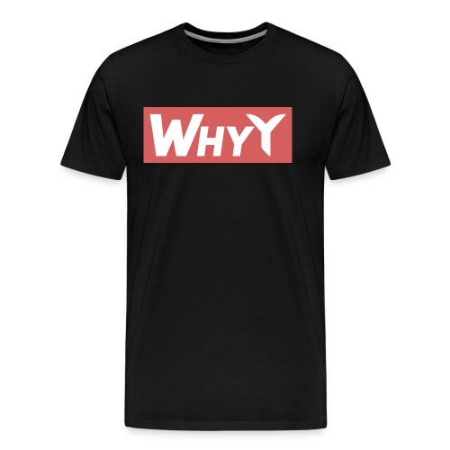 Block Red | WhyY - Men's Premium T-Shirt