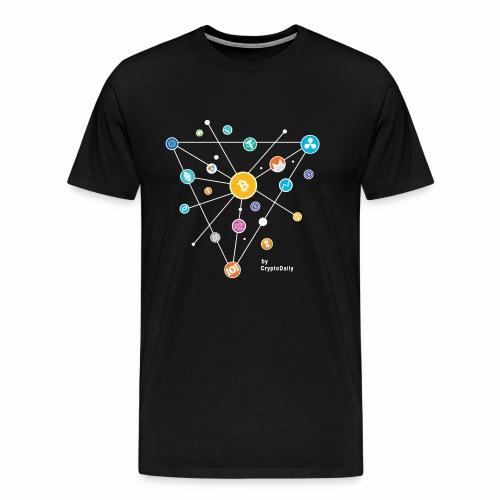 Crypto Road White - Men's Premium T-Shirt