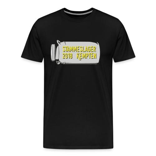 Logo groß trans - Männer Premium T-Shirt