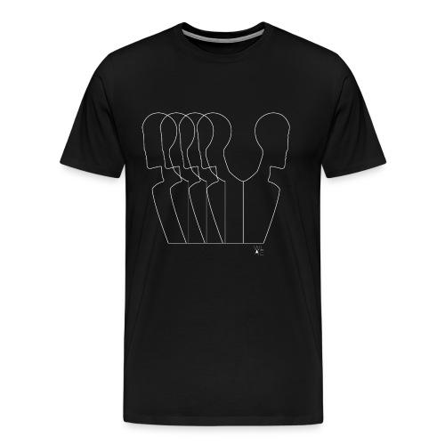 5 men W - Men's Premium T-Shirt