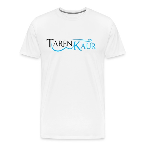 Taren Kaur_final1 white g - Men's Premium T-Shirt