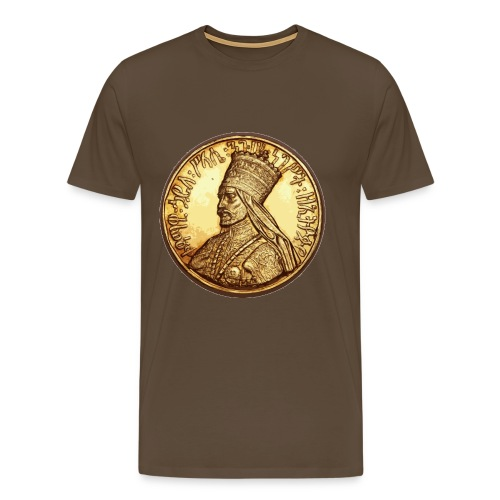 Haile Selassie Emperor - Männer Premium T-Shirt
