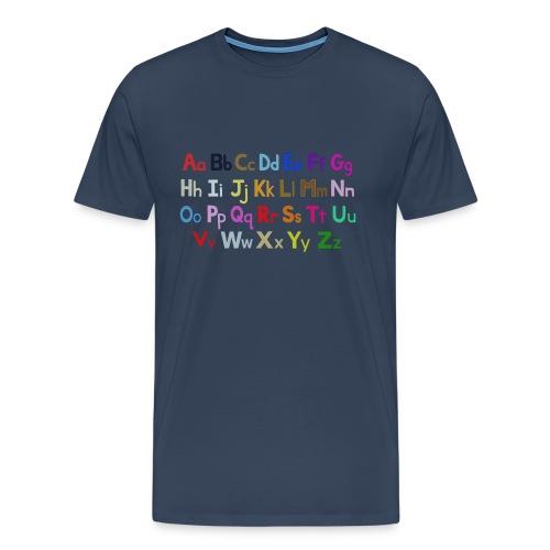alphabet 2 - Men's Premium T-Shirt