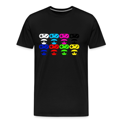 BamBamsen Beard Game Mix - Männer Premium T-Shirt